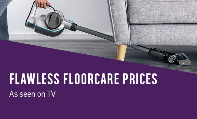 Flawless floorcare prices as seen on TV.