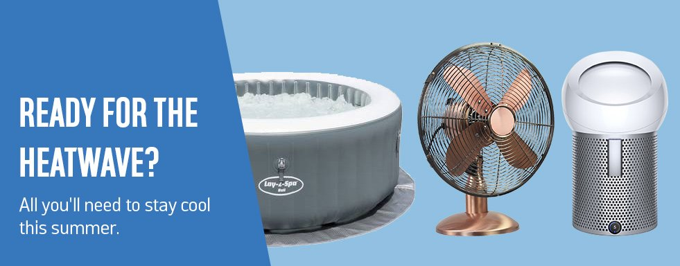 Ready for the heatwave? All you'll need to stay cool this summer.