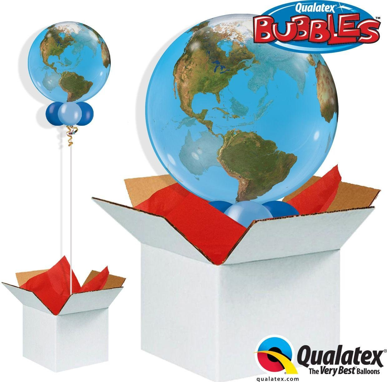 Argos - Planet Earth - Bubble - Balloon in a Box