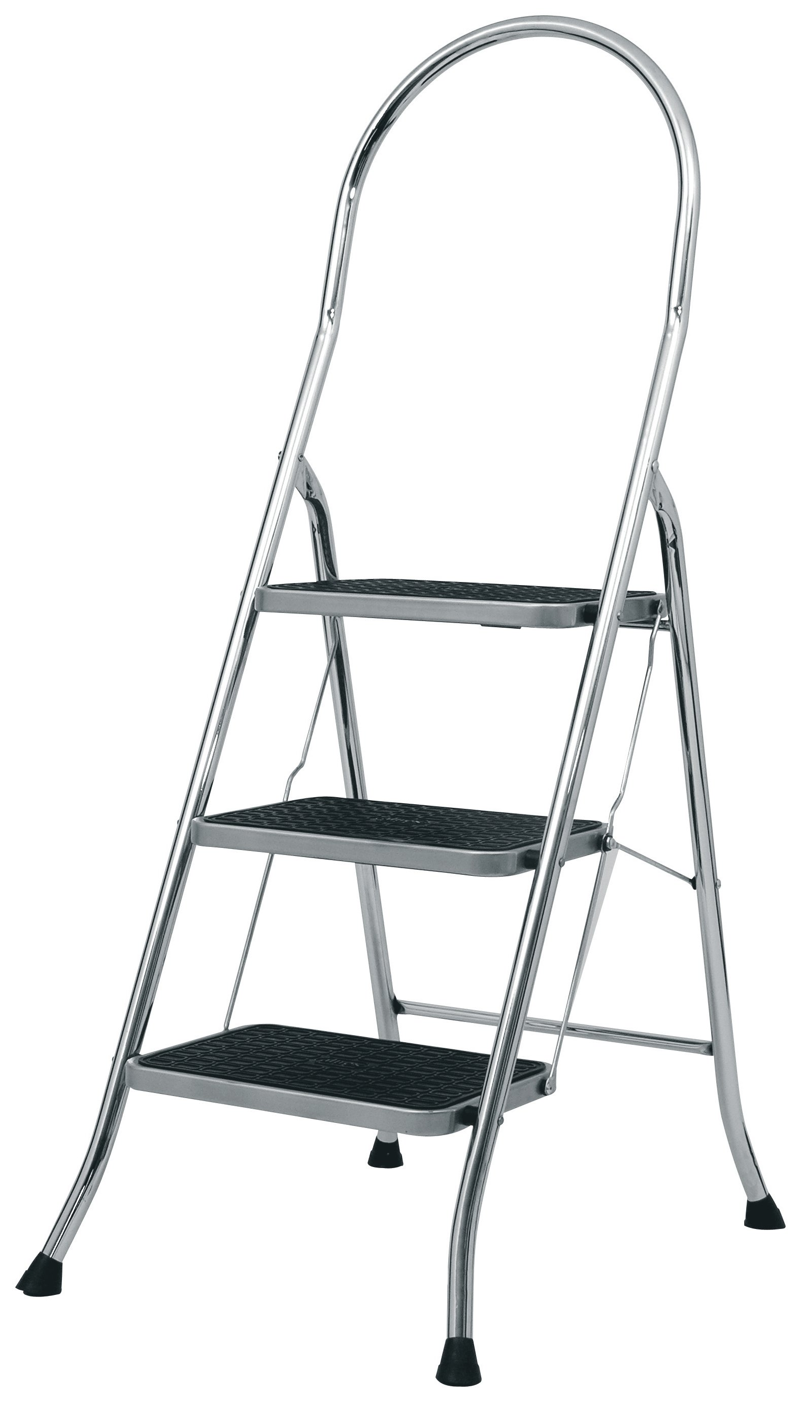 Abru 3 Step Steel Ladder And Tool Tray 248m Max Swh