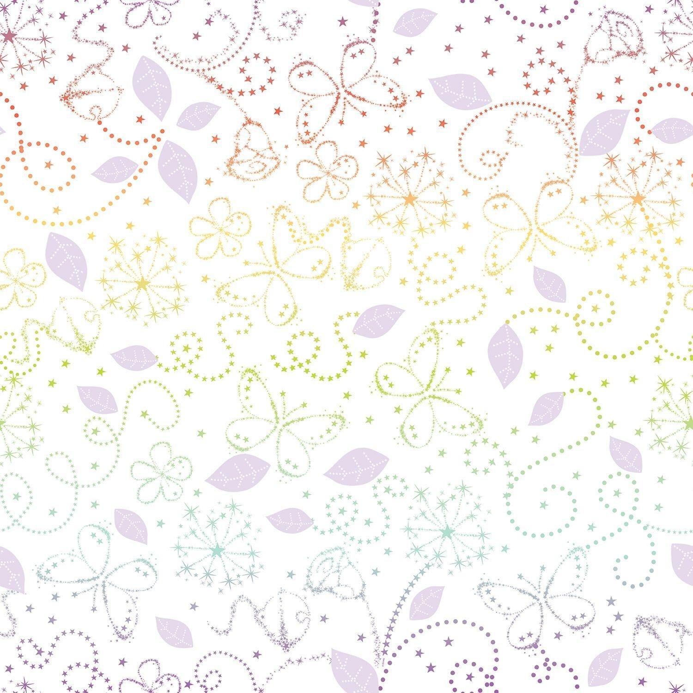 disney tinkerbell fairytale wallpaper  multicoloured.