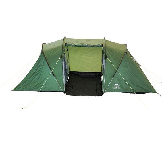 Buy Trespass 4 Man 2 Room Tent at Argos.co.uk - Your Online Shop ...