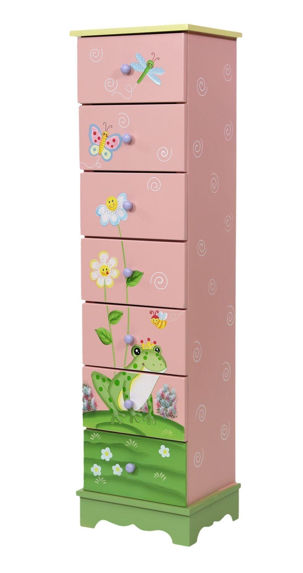 Image of Fantasy Fields Magic Garden 7 Drawer Cabinet.