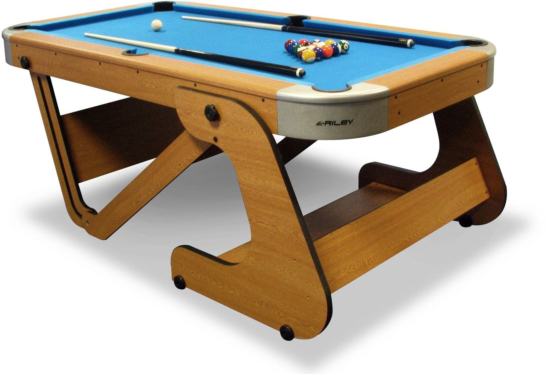 'Riley - 6ft 6inch Folding Pool Table
