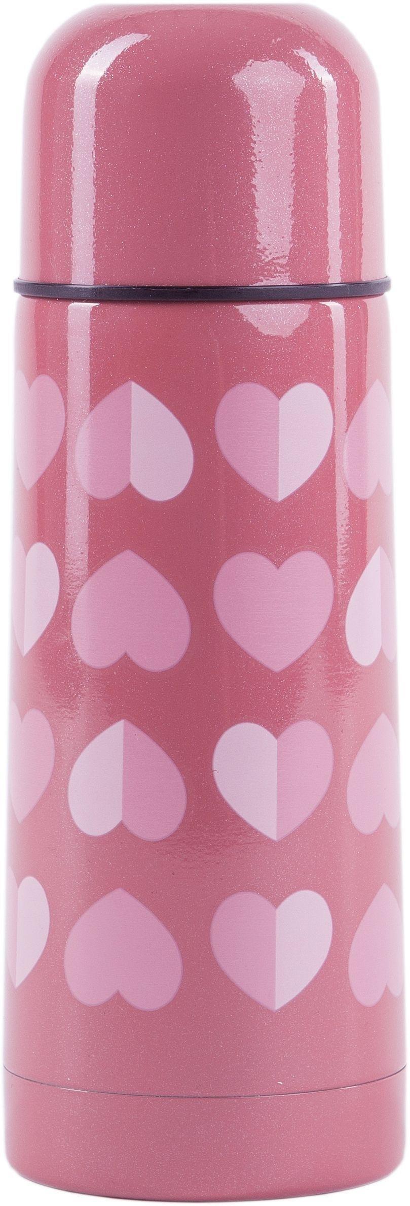 Image of Beau and Elliot - Confetti 350ml Vacuum Flask - Pink