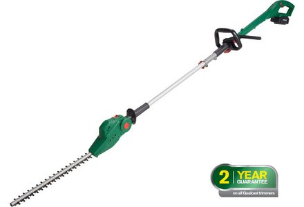 Image of the Qualcast Cordless Pole Hedge Trimmer - 18V.