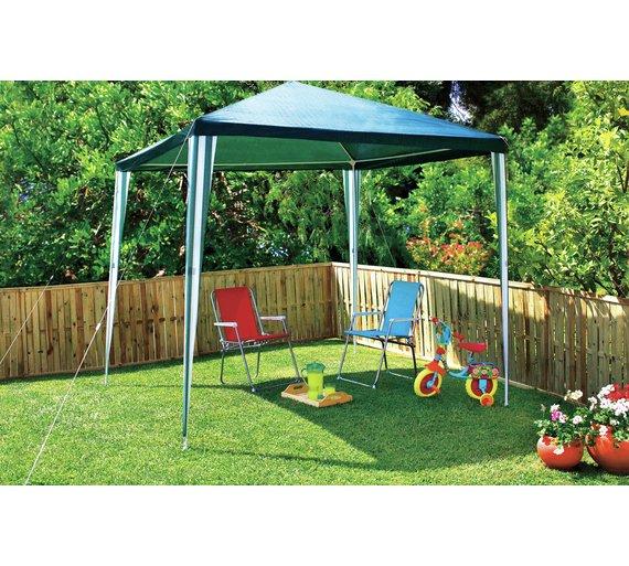 Buy HOME Square Large 27m X Garden Gazebo At Argoscouk