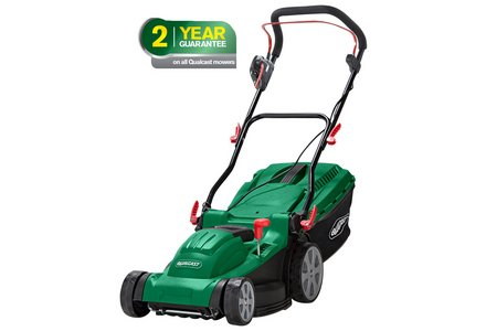 Image of the Qualcast Corded Rotary Lawnmower - 1600W.