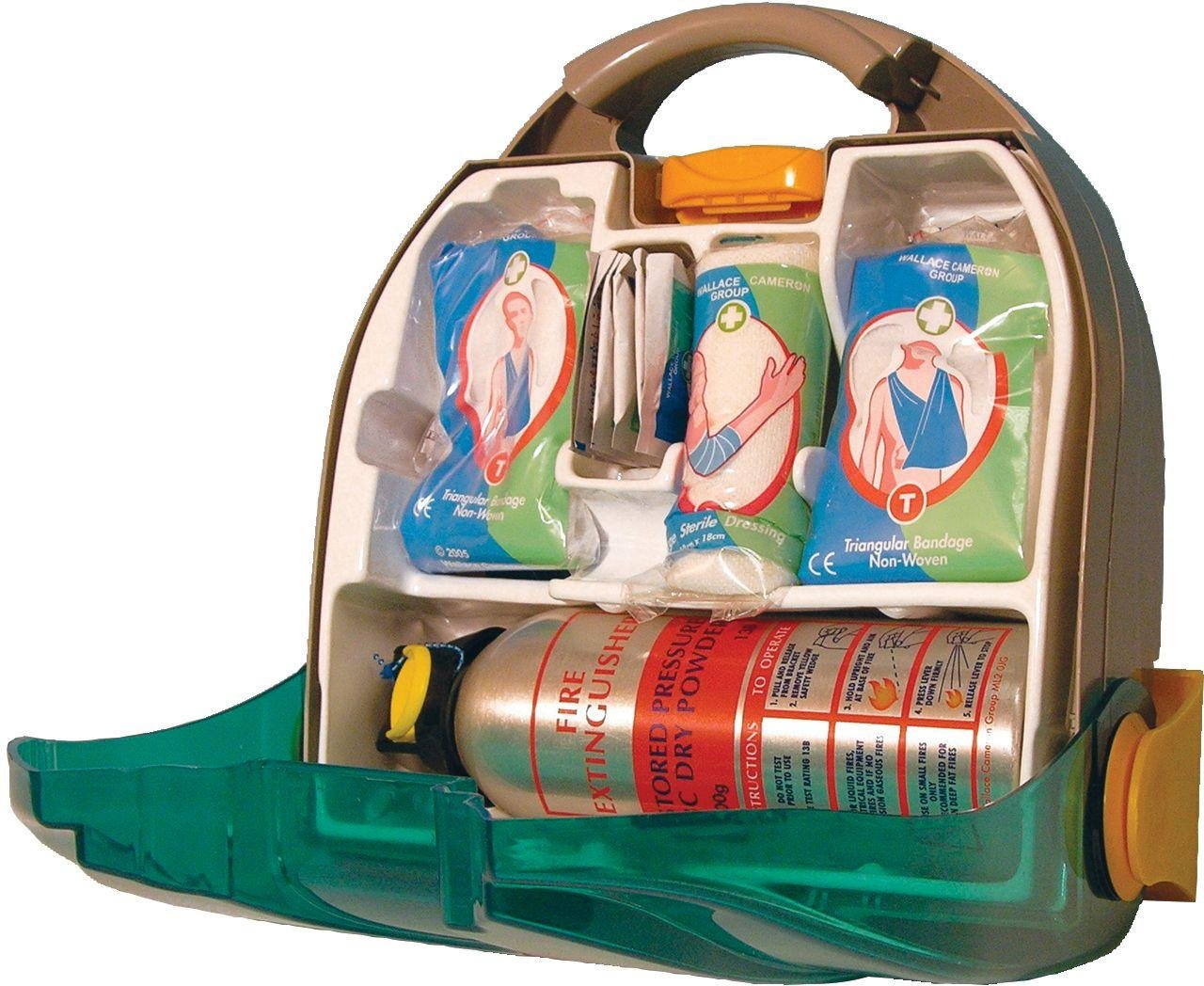Image of Astroplast Bambino First Aid Kit with Fire Extinguisher.