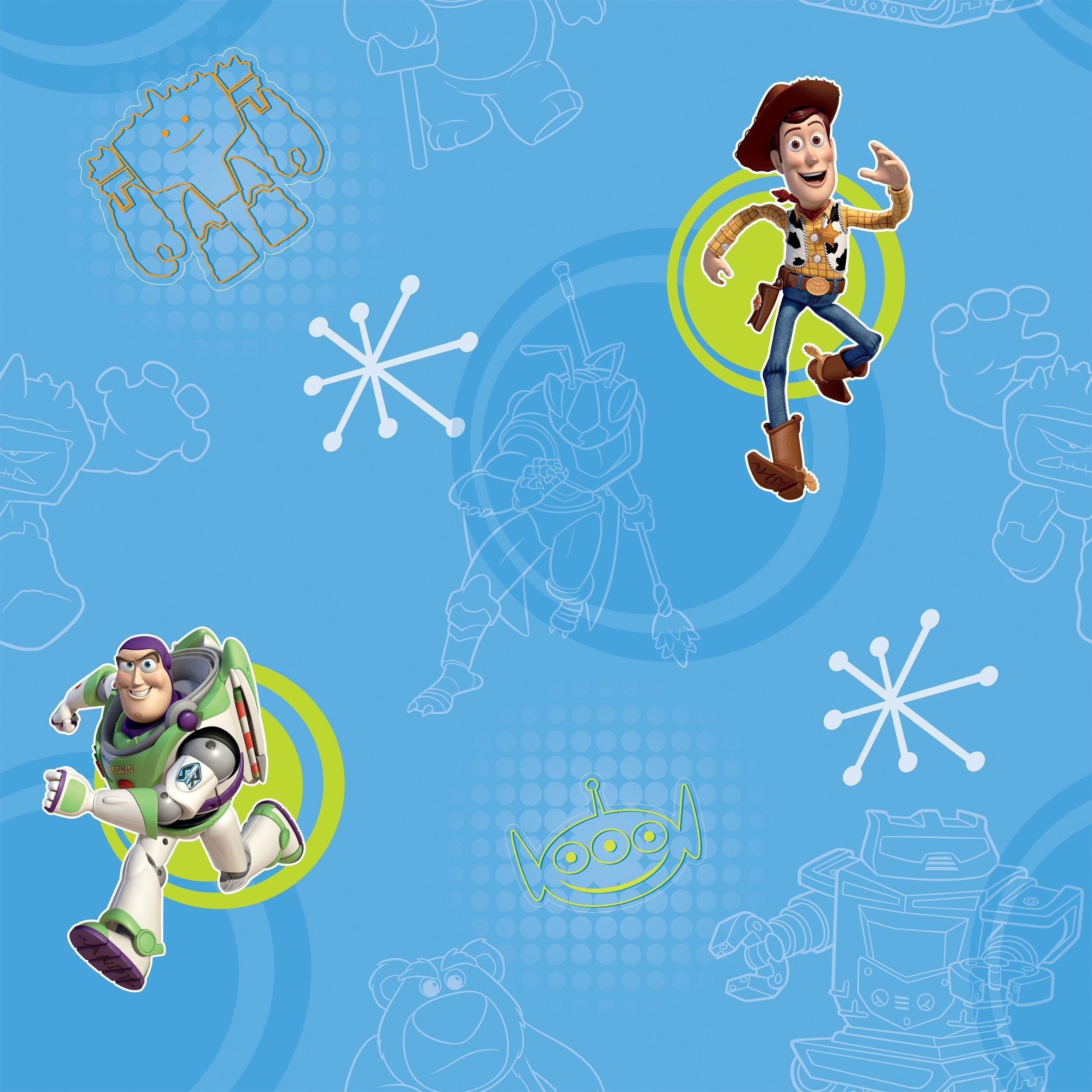 disney toy story 3 wallpaper  multicoloured.