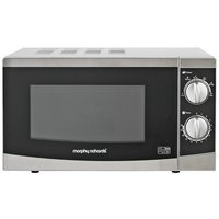 Morphy Richards - Standard Microwave -- MM82 -Silver