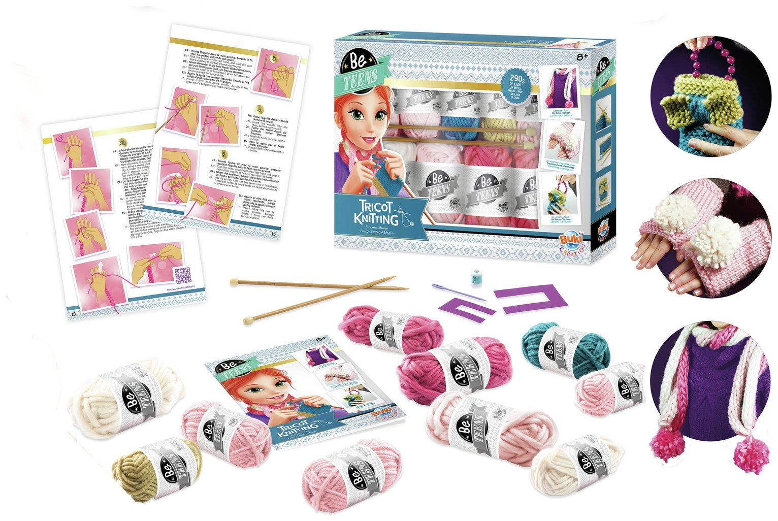 Buki - Knitting Set