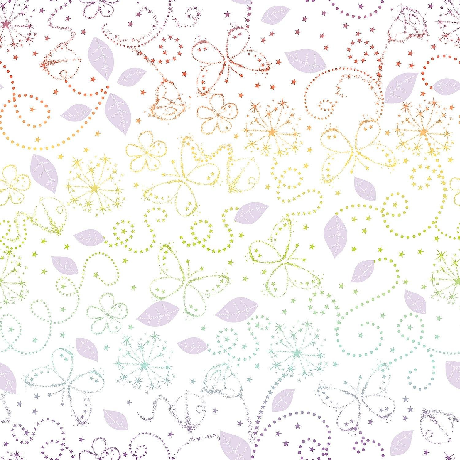 disney tinkerbell wallpaper sample  multicoloured.
