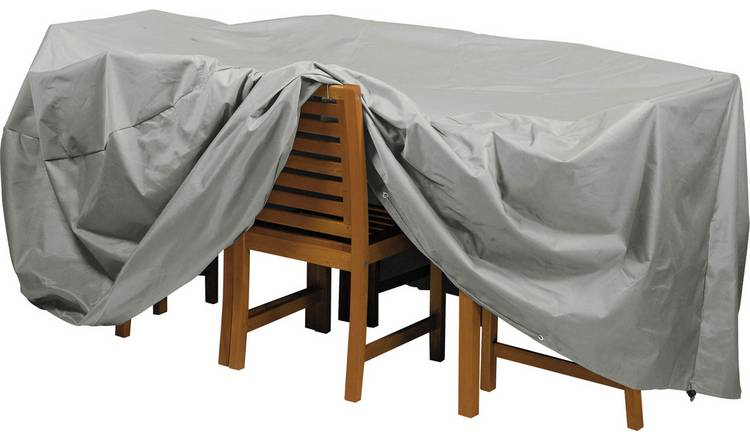 Argos Home Deluxe Oval Patio Set Cover