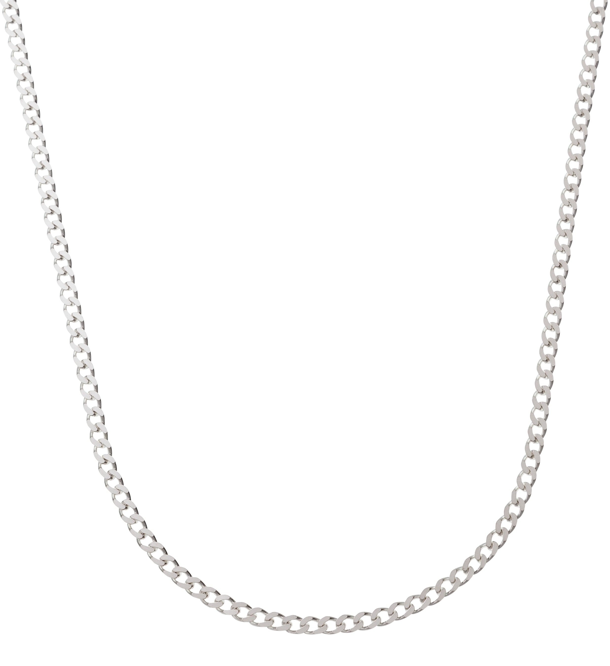 Revere Sterling Silver Solid Diamond Cut Curb Chain