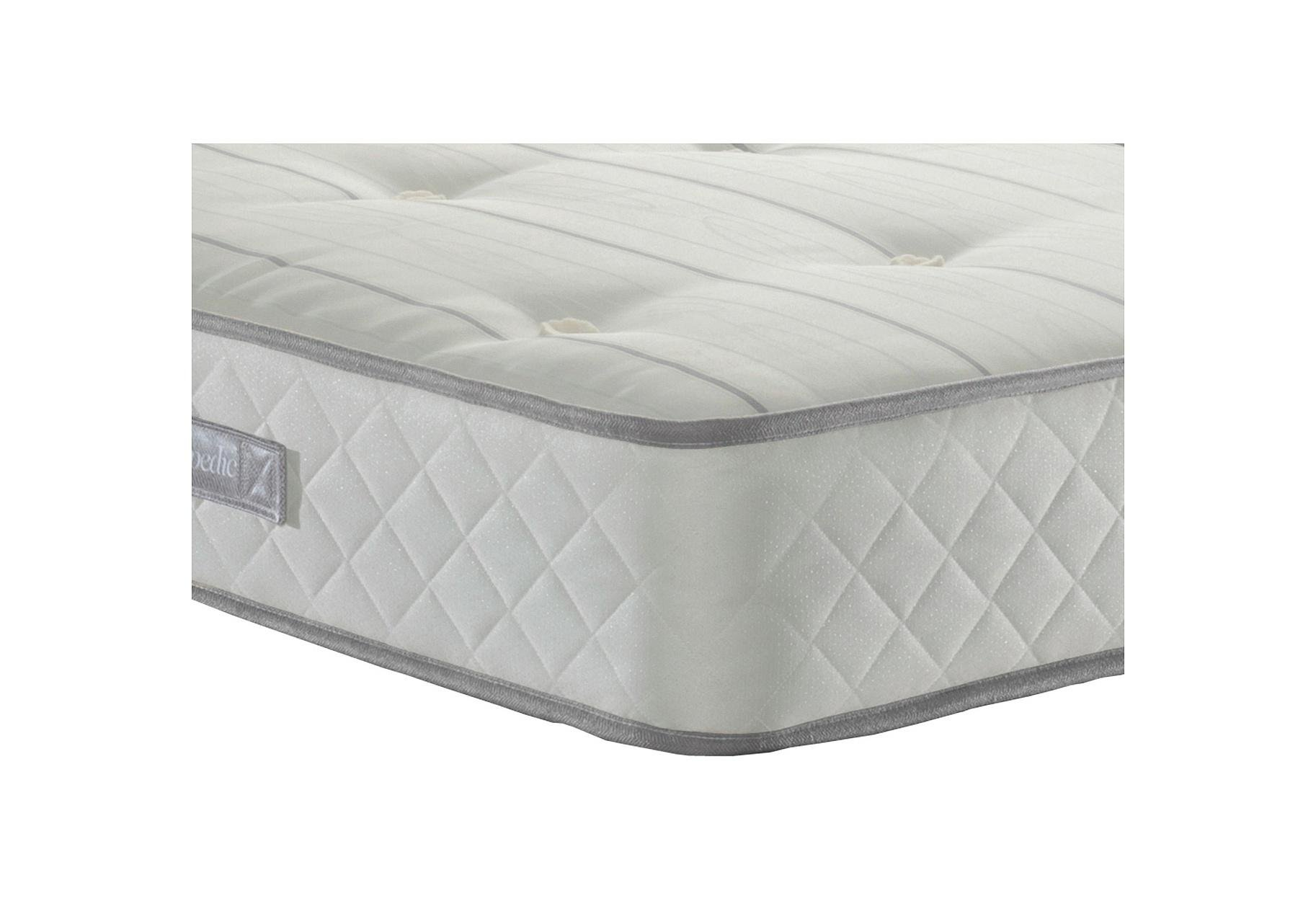 Sealy - Posturepedic Firm Ortho Memory Single 2 Drawer - Divan Bed