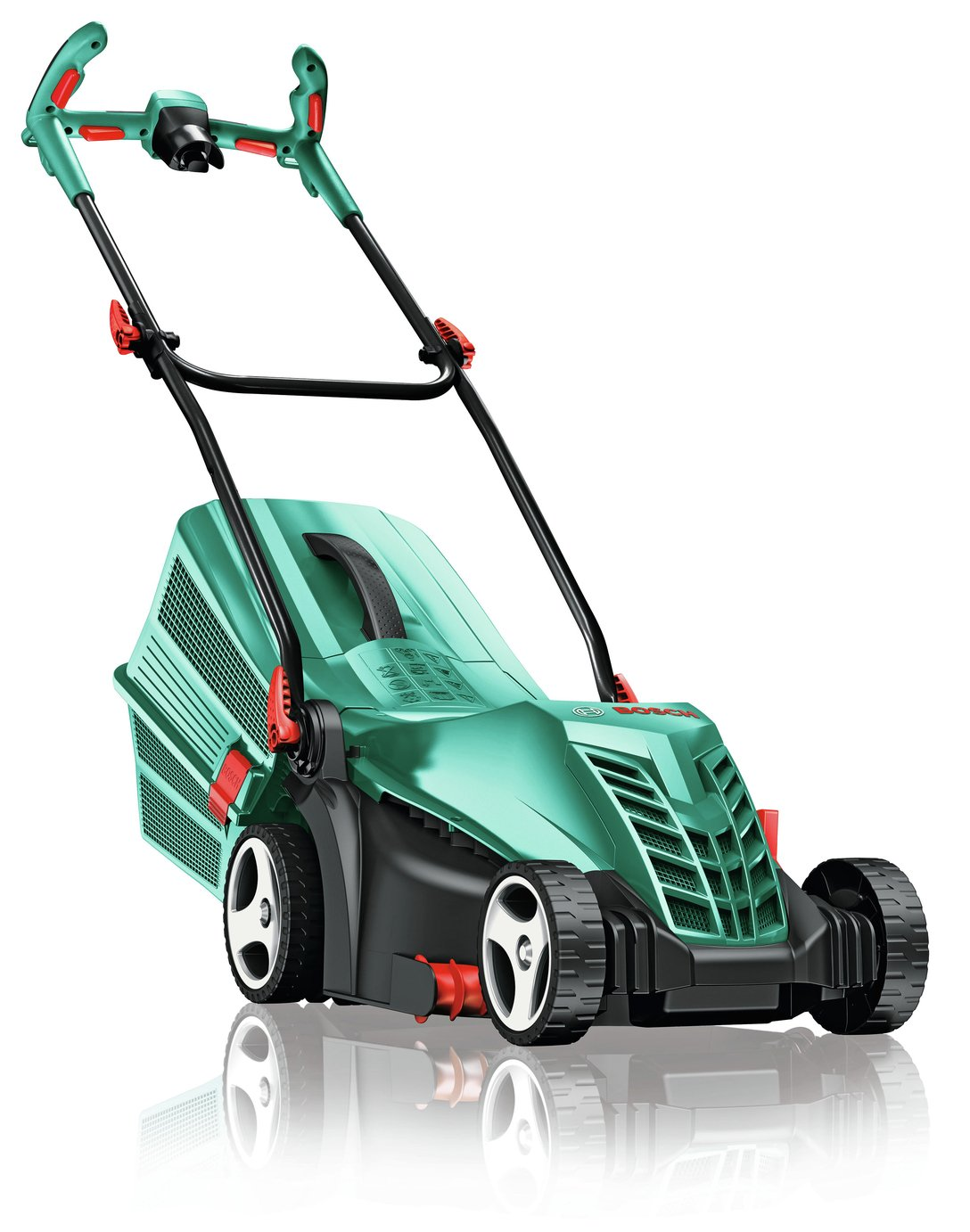 bosch rotak 37 14 corded rotary lawnmower 1400w review. Black Bedroom Furniture Sets. Home Design Ideas