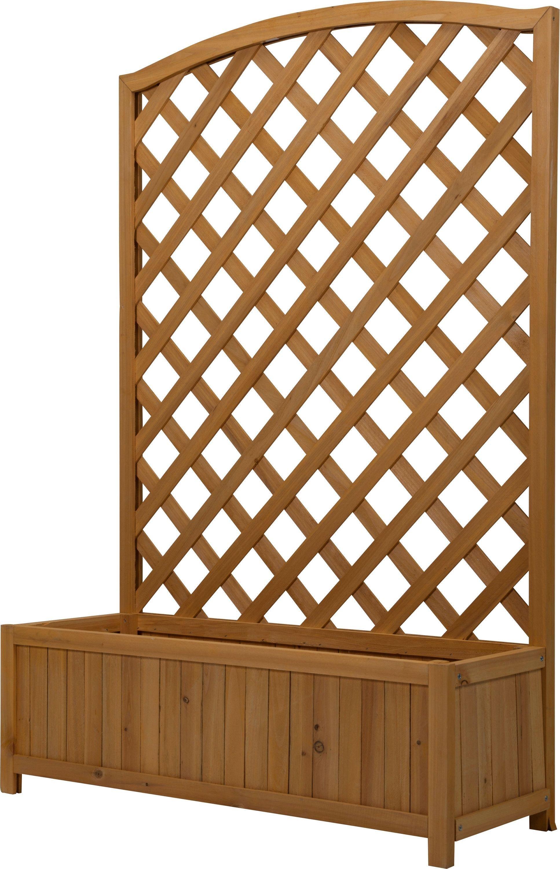 Lattice Wooden Planter - Large