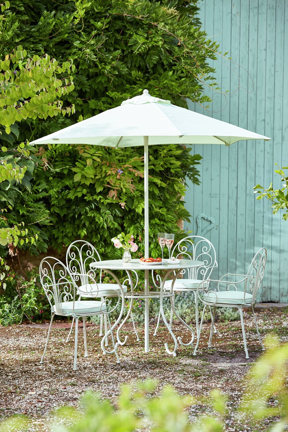 Garden Furniture 4 Seater buy heart of house jasmin 4 seater patio furniture set at argos.co