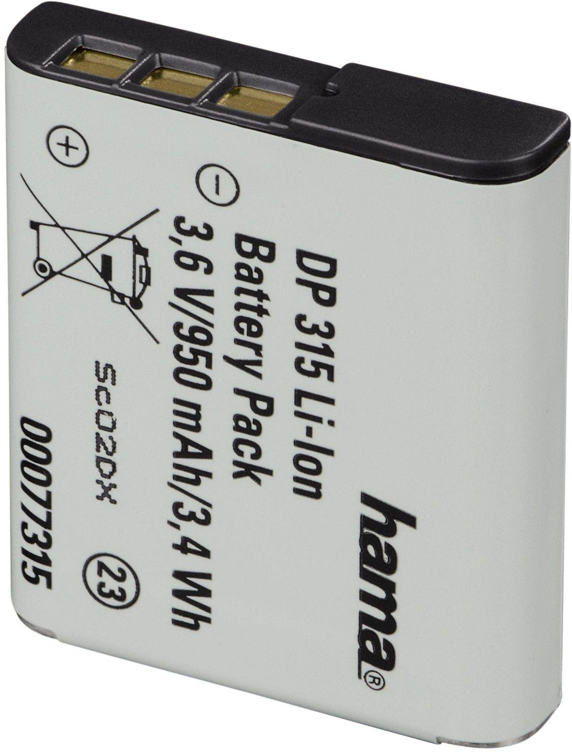 Hama Hama - DP 315 Li-Ion Battery for Sony - NP-BG1