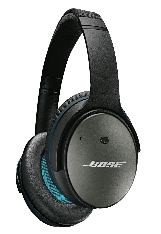 Bose Quiet Comfort 25 Over-Ear Wired Headphones - Black