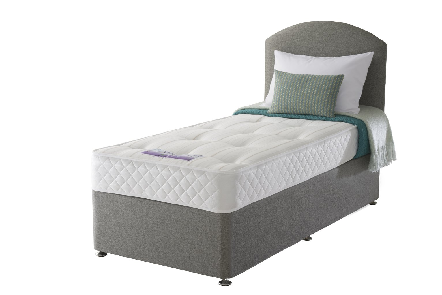 Image of Sealy - Posturepedic Firm Ortho Single - Divan Bed