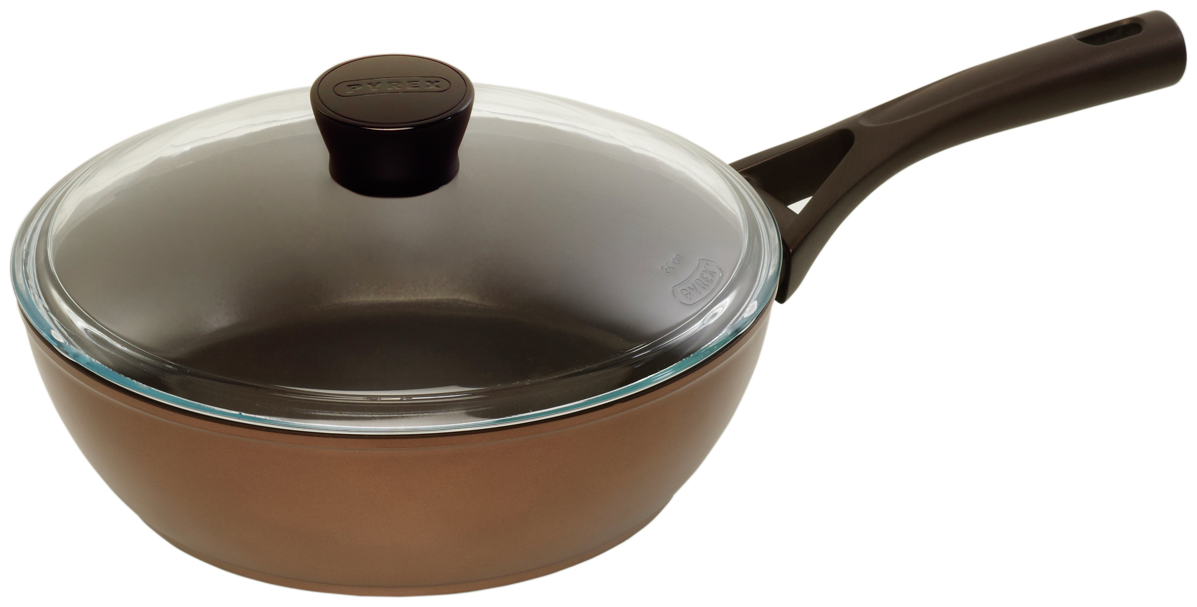 Pyrex - Gusto+ Induction 26cm Saute Pan and Lid