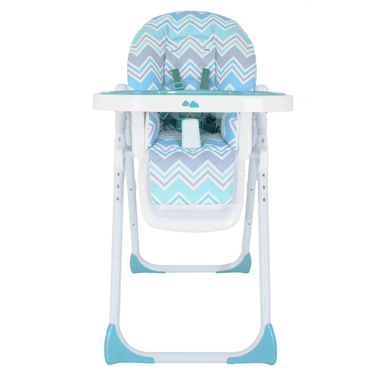 My Babiie Sam Faiers  Aqua Highchair