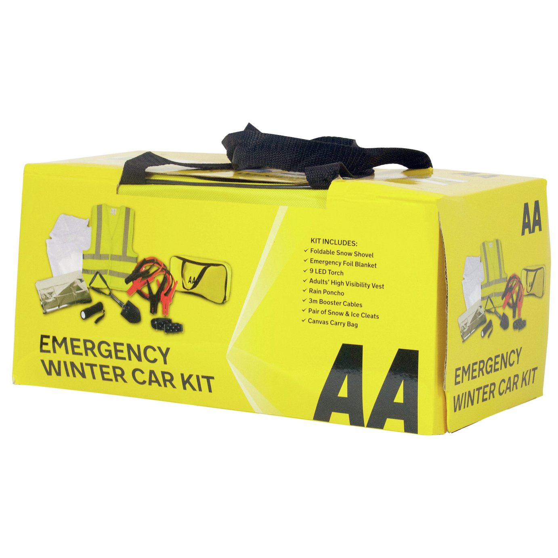 The AA Emergency Winter Car Kit