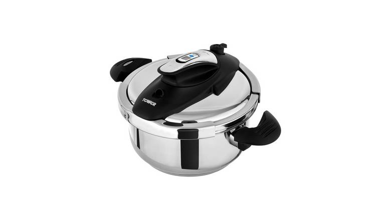 Tower 4L Stainless Steel Pressure Cooker