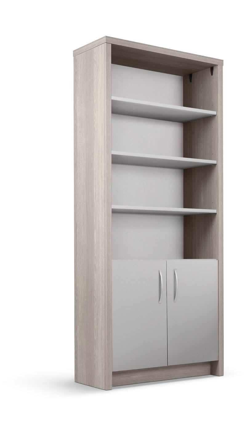 Argos Home Venice 3 Shelf Display Cabinet - Grey