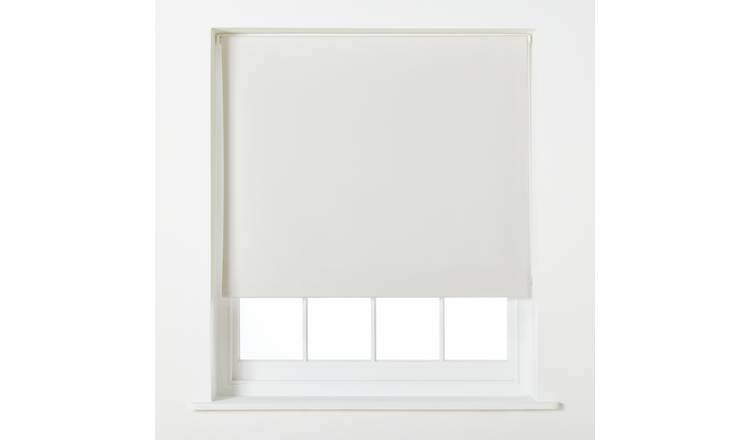 Argos Home Blackout Roller Blind - 5ft - Cream