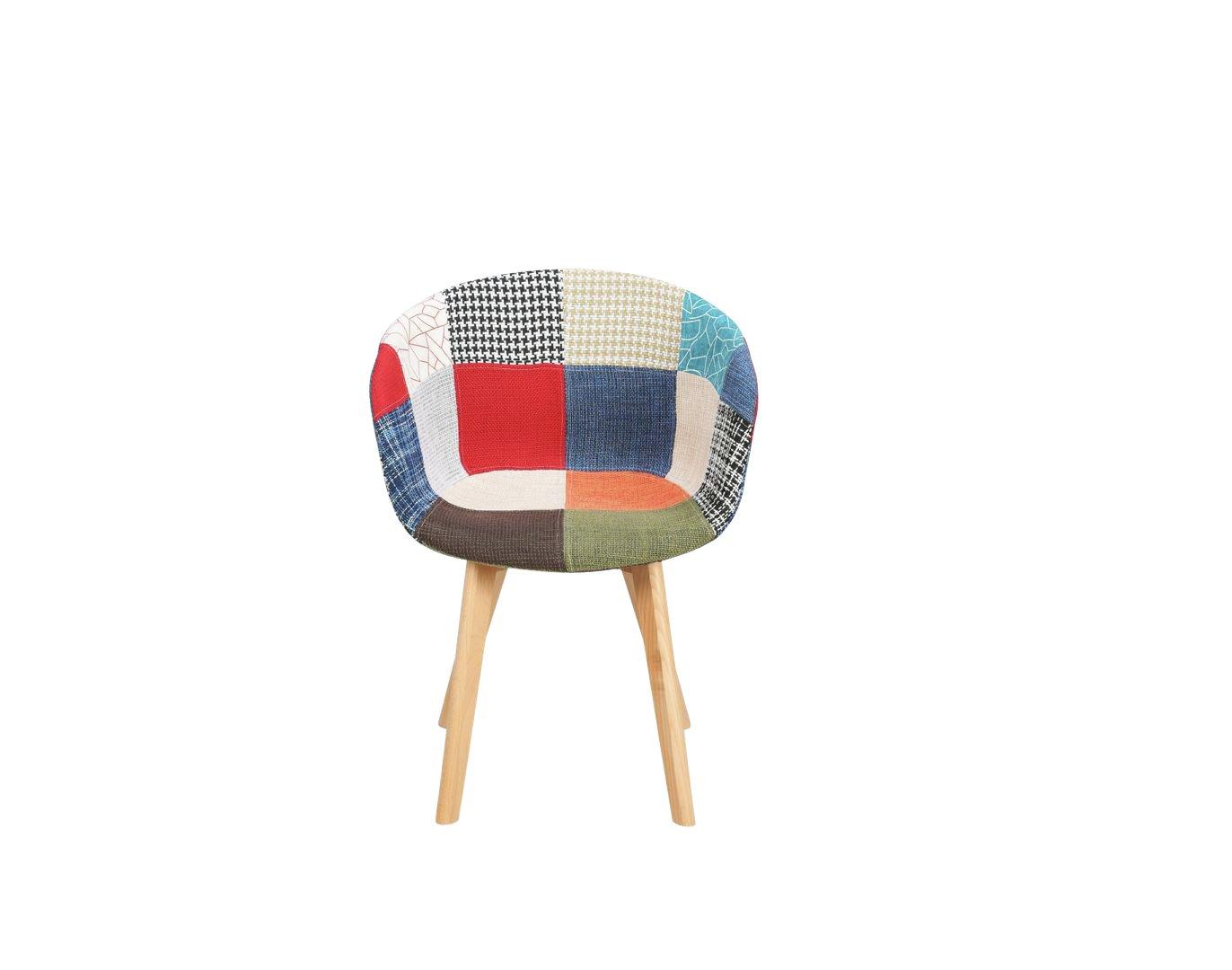 Birlea Whittaker Fabric Accent Chair - Multicoloured