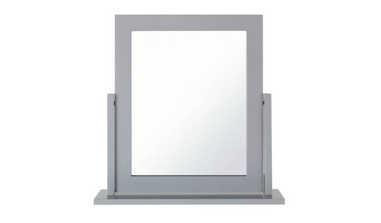 Argos Home Square Dressing Table Mirror - Grey