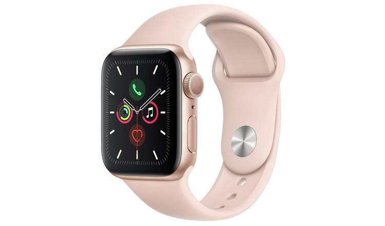 Apple Watch S5 GPS 40mm Gold Alu/Pink Band