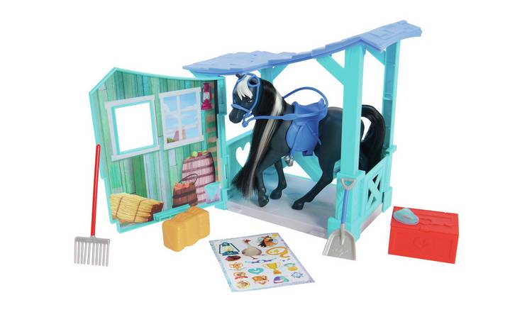 JP Spirit Classic Horse and Stable Set