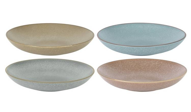 Habitat Roxy Set of 4 Pasta Plates