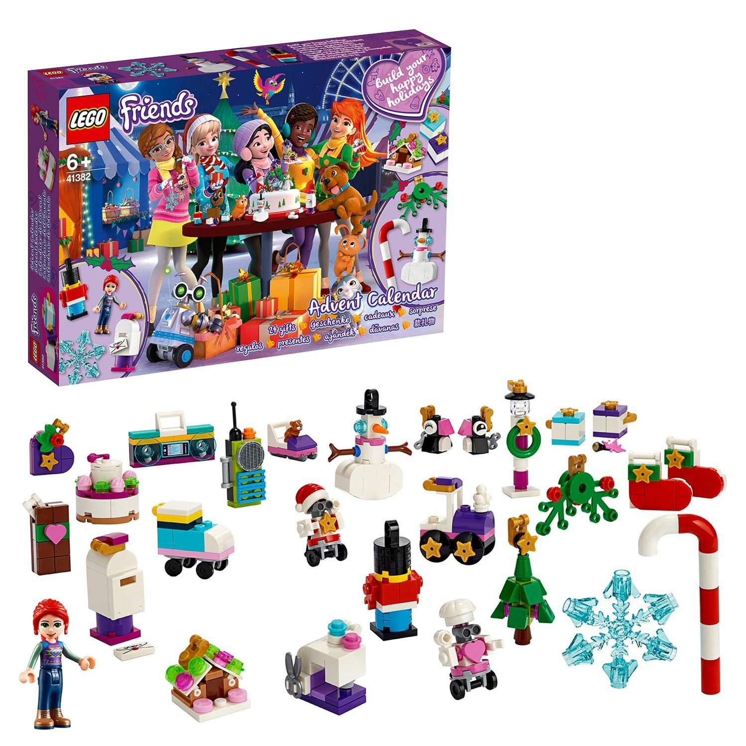 LEGO Friends Advent Calendar - 41382