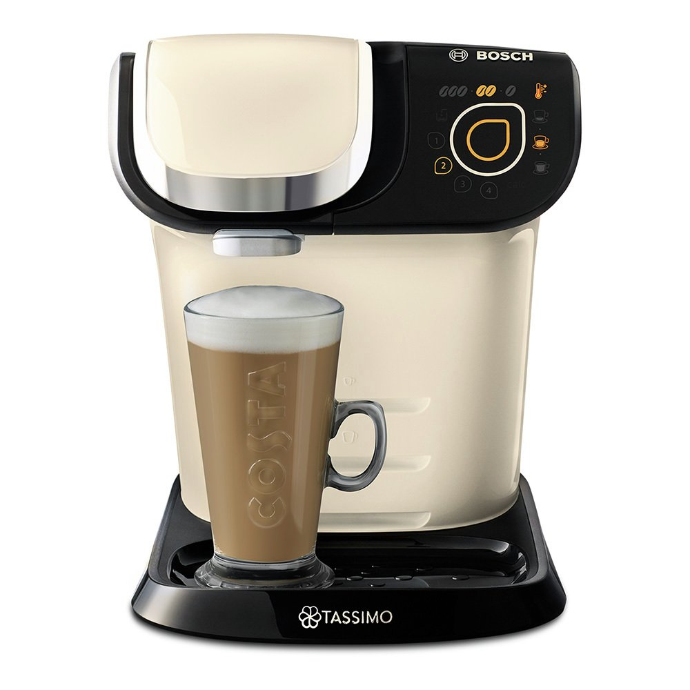 Tassimo by Bosch My Way Pod Coffee Machine - Cream