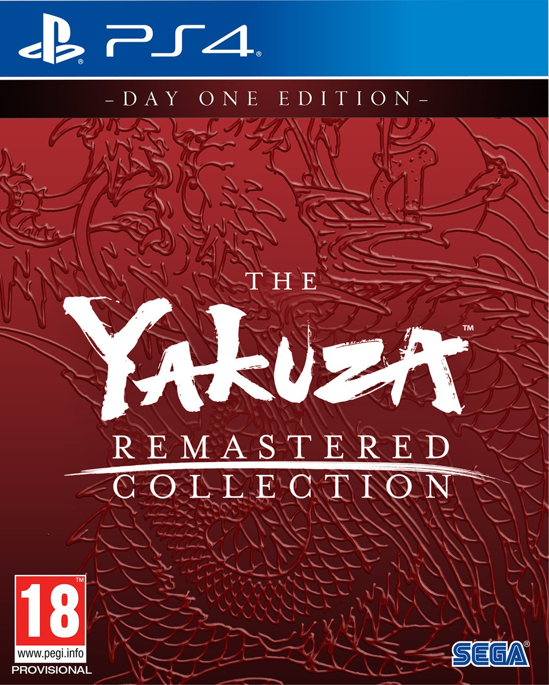 Yakuza: Remastered Collection PS4 Pre-Order Game