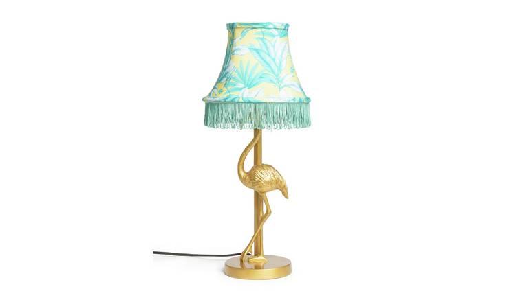 Buy Argos Home Wilderness Flamingo Lamp Gold | Table lamps | Argos