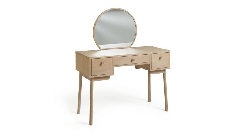 Argos Home Moorlands 3 Drawer Dressing Table - Oak Veneer