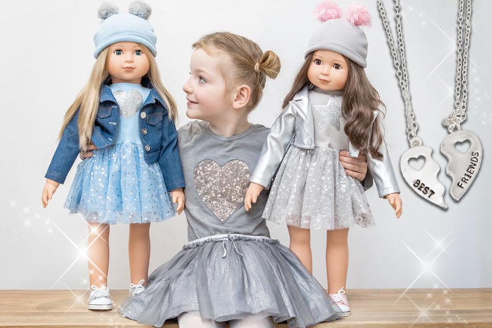 "Brand new 26"" fashion dolls"