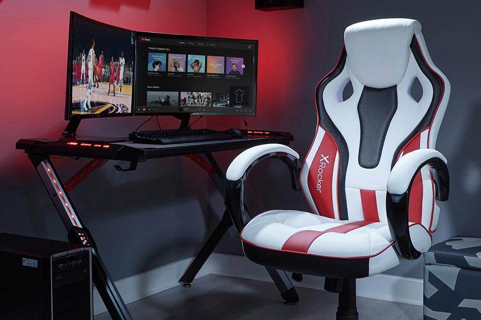 PC gaming chairs.