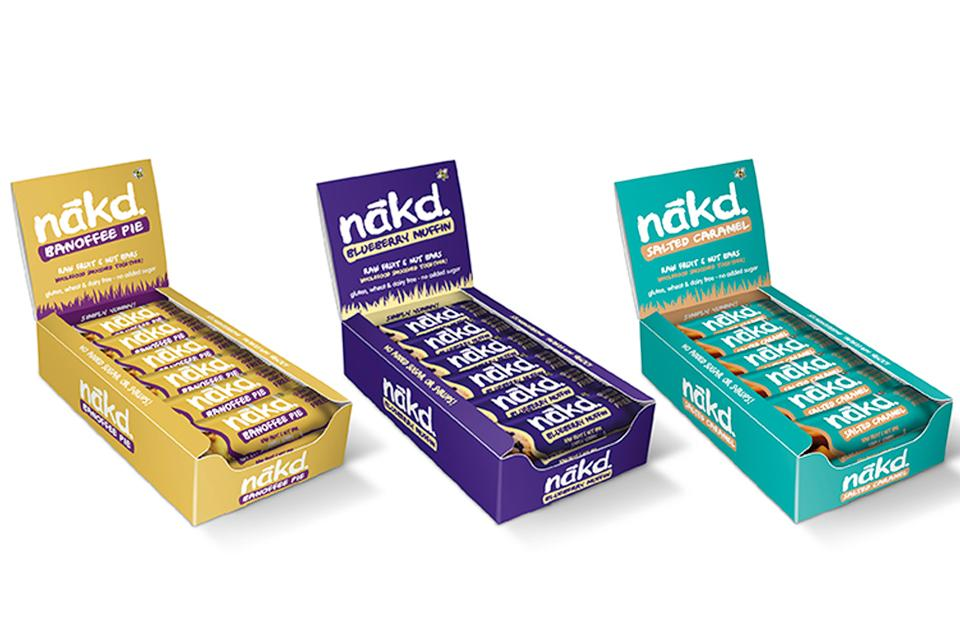 3 boxes of nutritional bars