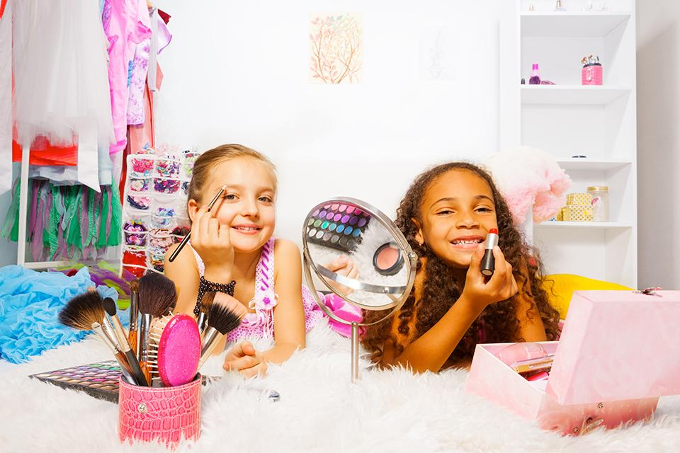 Kids' makeup sets.
