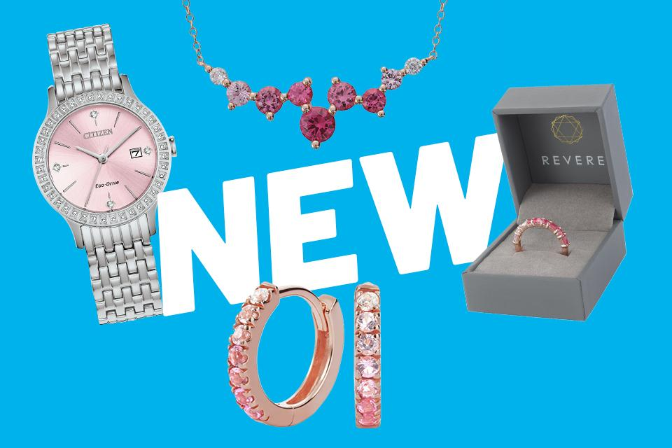 Womens jewellery & watches.
