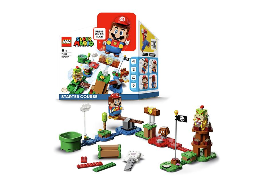 LEGO® Super Mario™ Adventures Starter Course Toy Game - 71360.