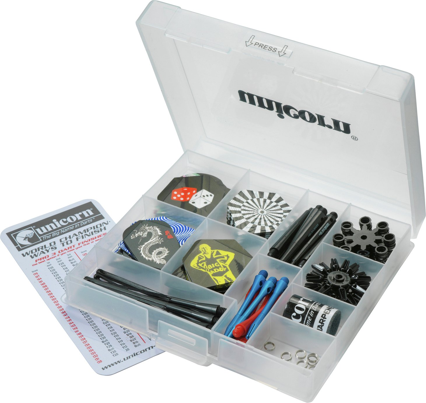 Maestro - 155 Piece Darts Tune Up Kit lowest price