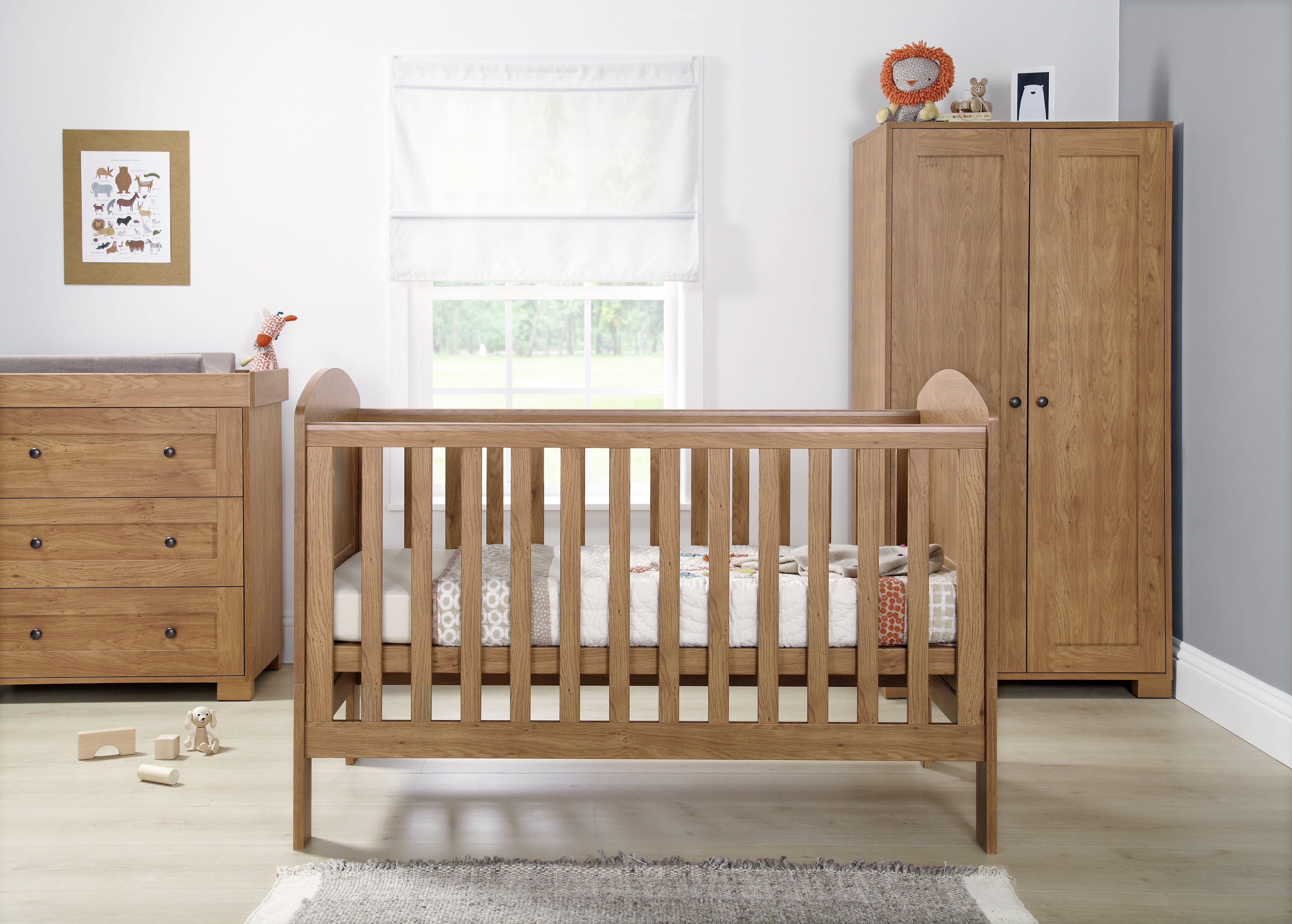 Mamas And Papas Bedroom Furniture Buy Mamas Papas Vico 3 Piece Furniture Set Vintage Pine At